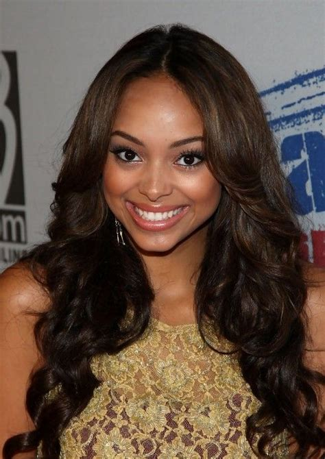middle part black hairstyles center part hairstyles center part and hairstyles on
