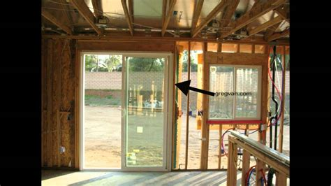 5 Ft Patio Sliding Doors Load Transfers Around Windows And Doors Structural