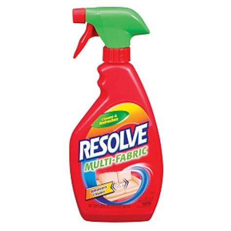 cloth couch cleaner resolve multi fabric upholstery cleaner drugstore com