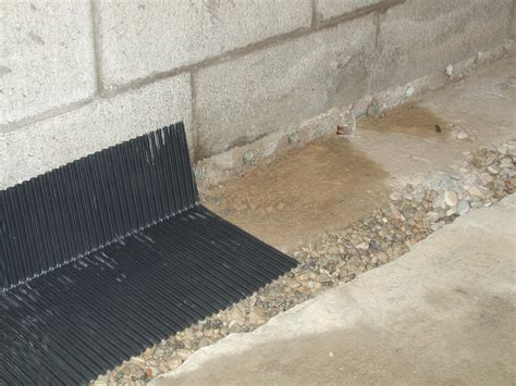 drain tiles select basement waterproofing