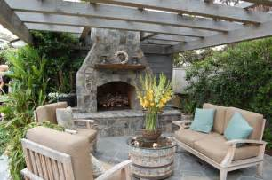 Outdoor Patio Designs With Fireplace Outdoor Fireplace Design Ideas