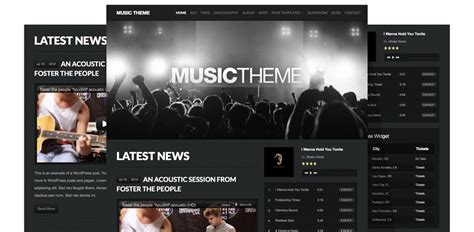 themes wordpress music 25 best wordpress review themes