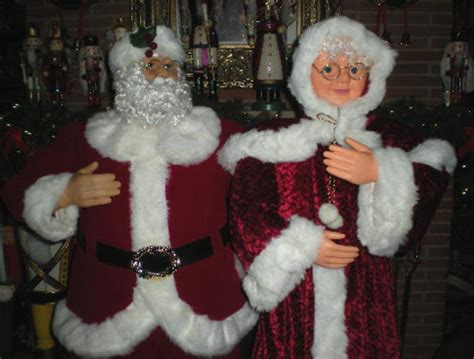 3 ft animatedmrsclaus animated 5 foot 3 quot size santa claus dances sings prop 代拍 海外代购 美国代购 日本代购 日本代