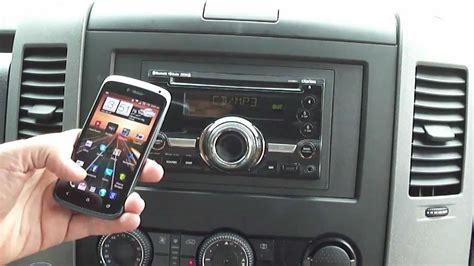 Clarion Auto Stereo by Clarion Cx501 Bluetooth Stereo Auto Car Receiver Youtube