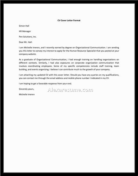 general cover letter format amazing sle general cover letter letter format writing