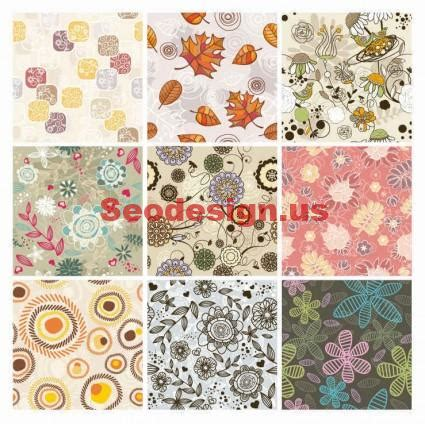 seamless pattern pixelmator 9 free vector seamless floral backgrounds download