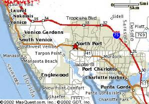 map of northport florida port florida map
