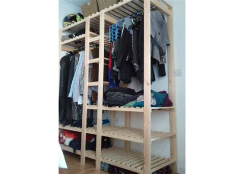how to make your own wooden wardrobe hometone home