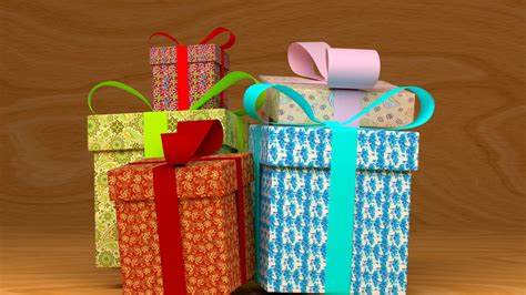 it gifts model download gifts blendernation