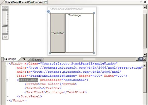 Wpf Layout Complete Event | wpf tutorial controls and layout