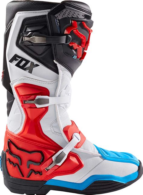 red dirt bike boots 2017 fox racing comp 8 boots mx atv motocross off road