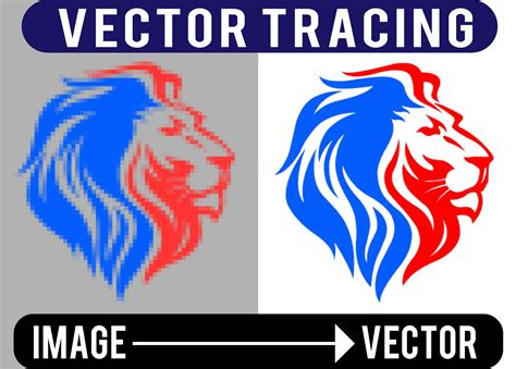 vector tracing  image  logo vector trace redesign