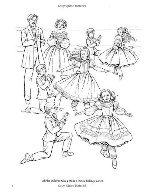 Nutcracker Ballet Coloring Pages 116 best images about nutcracker on