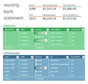 bank statement 8 free samples examples format