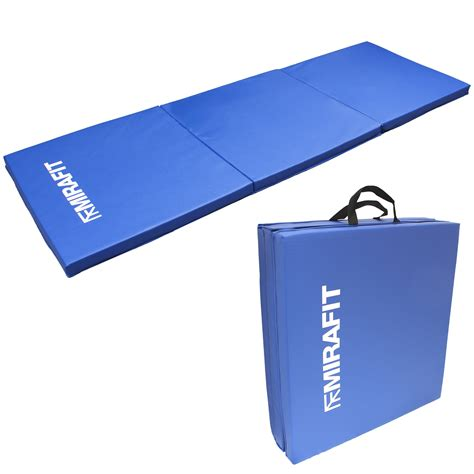 Exercise Equipment Mats by Mirafit Tri Fold Folding Exercise Mat Pilates