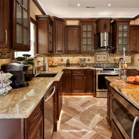 geneva all wood kitchen cabinets chocolate stained maple