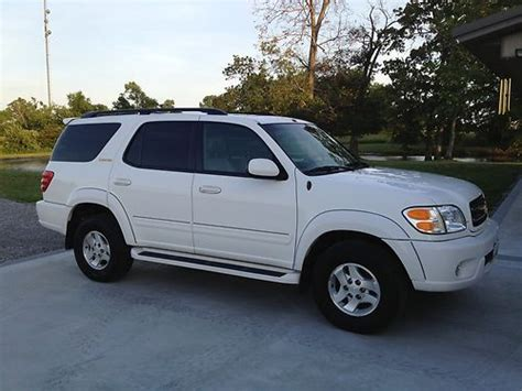 2002 Toyota Sequoia Mpg Buy Used 2002 Toyota Sequoia Limited 4x4 In Mcleansboro