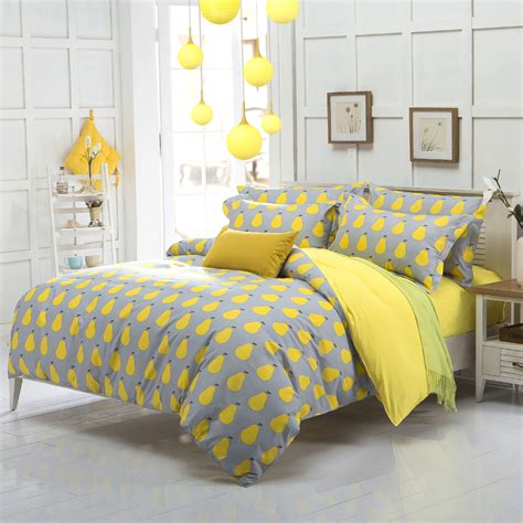 yellow bedding online get cheap yellow sheet sets aliexpress com