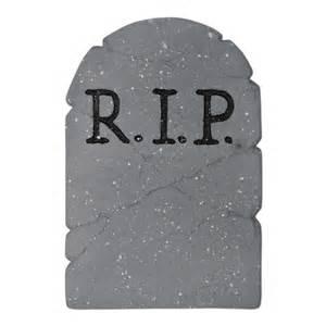 R I P r i p tombstone