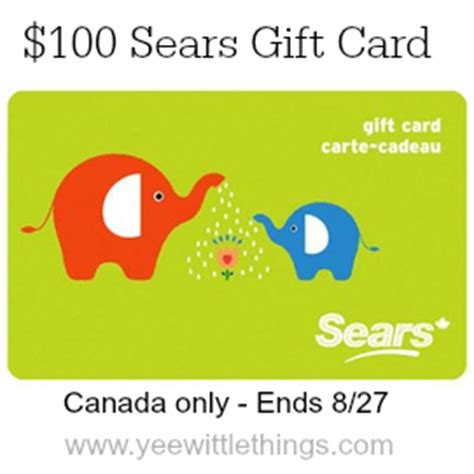 Sears Canada Gift Card - back to school with sears giveaway rockthehalls yee wittle things