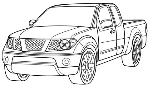 Coloring Pages With Cars And Trucks | coloring pages cars and trucks az coloring pages