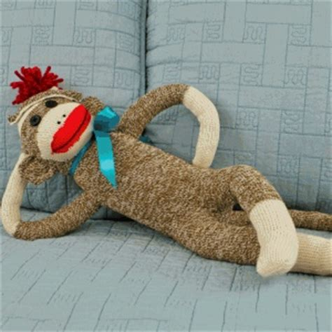 diy sock monkey tutorial classic sock monkey made many of these the years fabric crafting