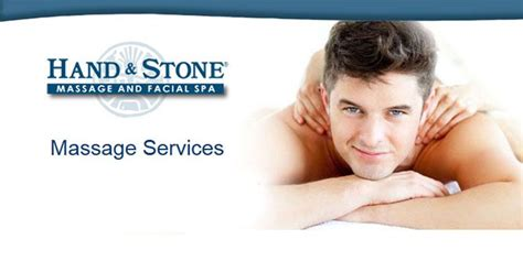 Hand and Stone Massage Spa Franchise Information
