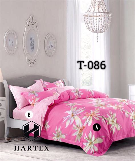 Bedcover Set Sprei 180x200 Katun Satin Jepang sprei katun jepang murah bedcover grosir