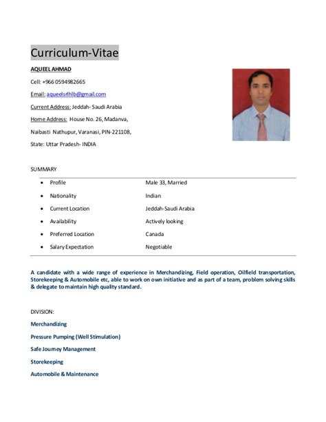 Show Resume Examples by Cv