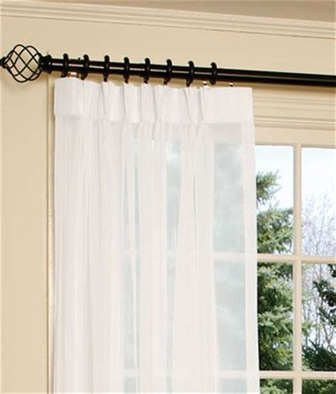Black Pinch Pleat Curtains Black Curtain Rod And Rings Drapes To Be In This Style Pinch Pleats With White Sheers
