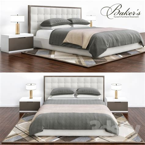 baker bedroom furniture 3d models bed baker bedroom