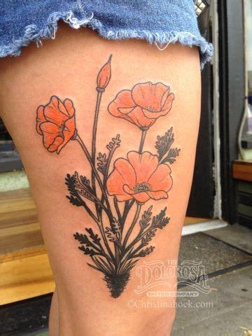 california poppy tattoo designs 25 best ideas about california poppy on