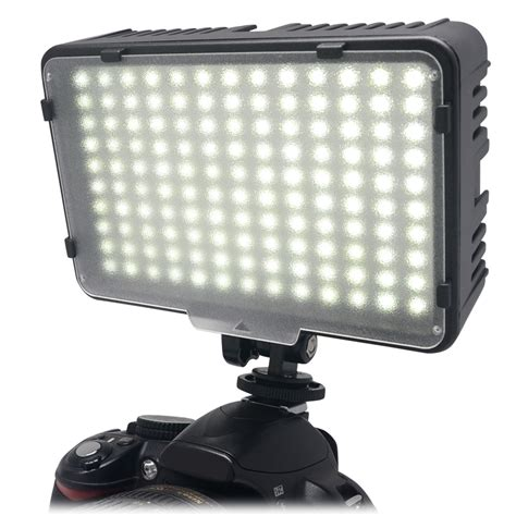 best on camera led light mcoplus 130 led video photography light lighting for canon