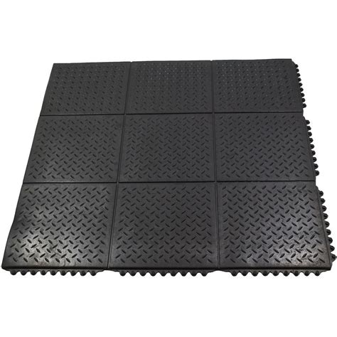 Durable Anti Fatigue Interlocking Commercial Solid