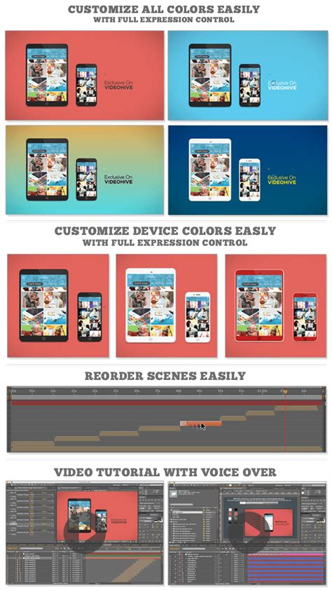 Mobile App Promotion After Effects Template Istockplus After Effects App Template