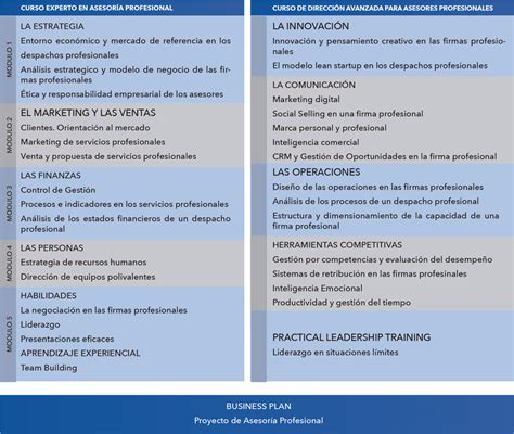 Plural Mba Mbas by M 225 Ster Y Experto En Asesor 237 A Profesional