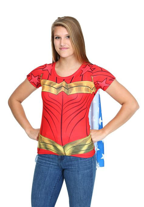 Tshirt Superheroes 19 From Ordinal Apparel sublimated juniors caped t shirt