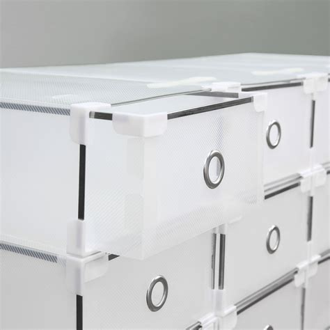 clear stackable drawers uk 20 plastic drawer shoe storage box clear stackable