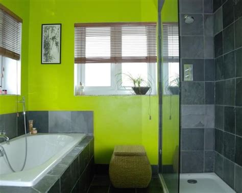 lime green bathroom ideas grey and lime green bathroom green and white