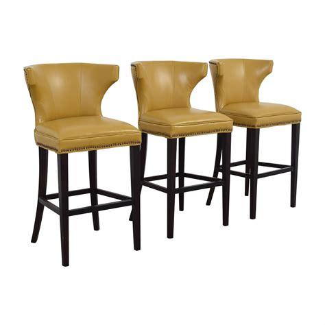 grandin road counter stool 68 grandin road grandin road mustard yellow bar