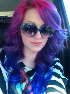 splat hair color ideas splat pink lusty lavender and blue envy what a