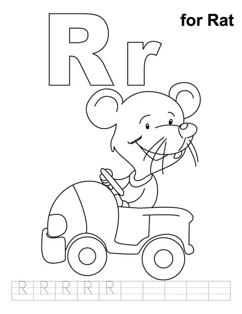 coloring pages for rat rat coloring page az coloring pages