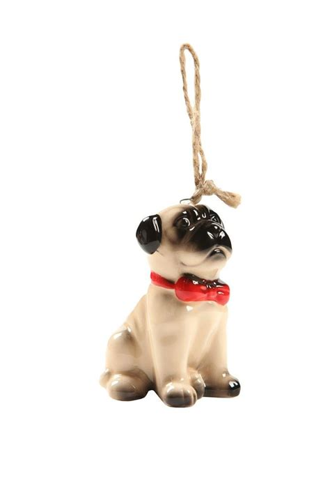 pug ornament slouch trees pug and ornaments
