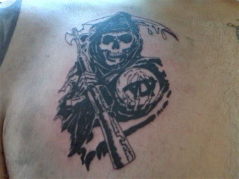 anarchy tattoo sons of anarchy soa samcro