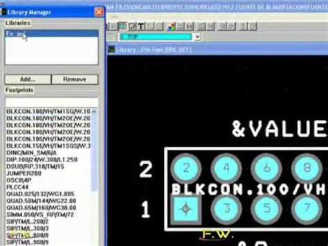 orcad layout youtube curso orcad parte 22 comenzado un nuevo dise 241 o en el orcad