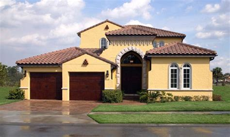 House Plans For Florida Exteriors Spanish Style Homes In Florida Psg Construction