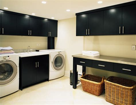 Contemporary Laundry Room Ideas Lovely White Laundry Basket Decorating Ideas Images In Laundry Room Contemporary Design Ideas