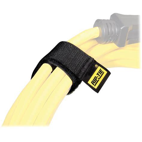 rip tie 1 x 3 quot cable wrap black 10 pack h 03 010 bk b h