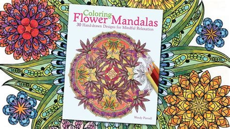 floral inspirations a detailed floral coloring book books coloring flower mandalas a garden inspired coloring book