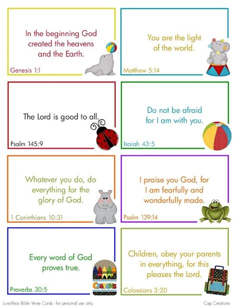 printable lunch quotes printable lunch box bible quote cards for my ryan